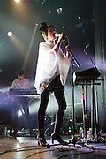 Ladytron performs at the Regency Ballroom in San Francisco, Calif., Sept. 25, 2011.  Photo by Stan Olszewski/SOSKIphoto.