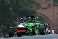 #49 G Tootell / L Tootell Caterham R300 2000 during the CSCC Gold Arts Magnificent Sevens at Oulton Park, Little Budworth, Cheshire, United Kingdom. October 15 2016. World Copyright Peter Taylor/PSP. <br /> Copy of publication required for printed pictures.  Every used picture is fee-liable. http://archive.petertaylor-photographic.co.uk