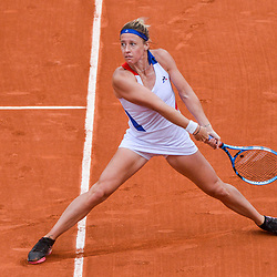 Pauline Parmentier of France during Day 6 of the French Open 2018 on June 1, 2018 in Paris, France. (Photo by Baptiste Fernandez/Icon Sport)