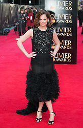 The Laurence Olivier Awards - Red Carpet Arrivals. Ruth Wilson attends The Laurence Olivier Awards at the Royal Opera House, London, United Kingdom. Sunday, 13th April 2014. Picture by Daniel Leal-Olivas / i-Images