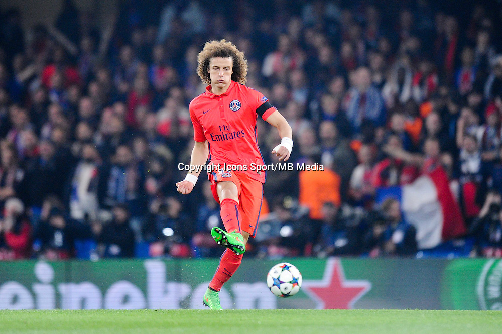 David LUIZ - 11.03.2015 - Chelsea / Paris Saint Germain - 1/8Finale Champions League<br />Photo : Johnny Fidelin / Icon Sport