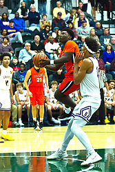 23 November 2018: Boys Basketball game between the Bloomington Raiders and the Normal Community Ironmen at Shirk Center in Bloomington