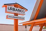 Urbanos Guisados Signage in El Monte