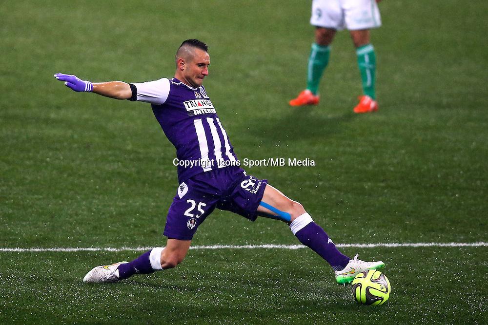 Dragos Grigore - 28.02.2015 - Toulouse / Saint Etienne - 27eme journee de Ligue 1 -<br />Photo : Manuel Blondeau / Icon Sport