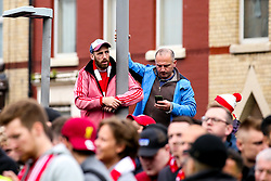 Liverpool fans - Mandatory by-line: Robbie Stephenson/JMP - 07/05/2019 - FOOTBALL - Anfield - Liverpool, England - Liverpool v Barcelona - UEFA Champions League Semi-Final 2nd Leg