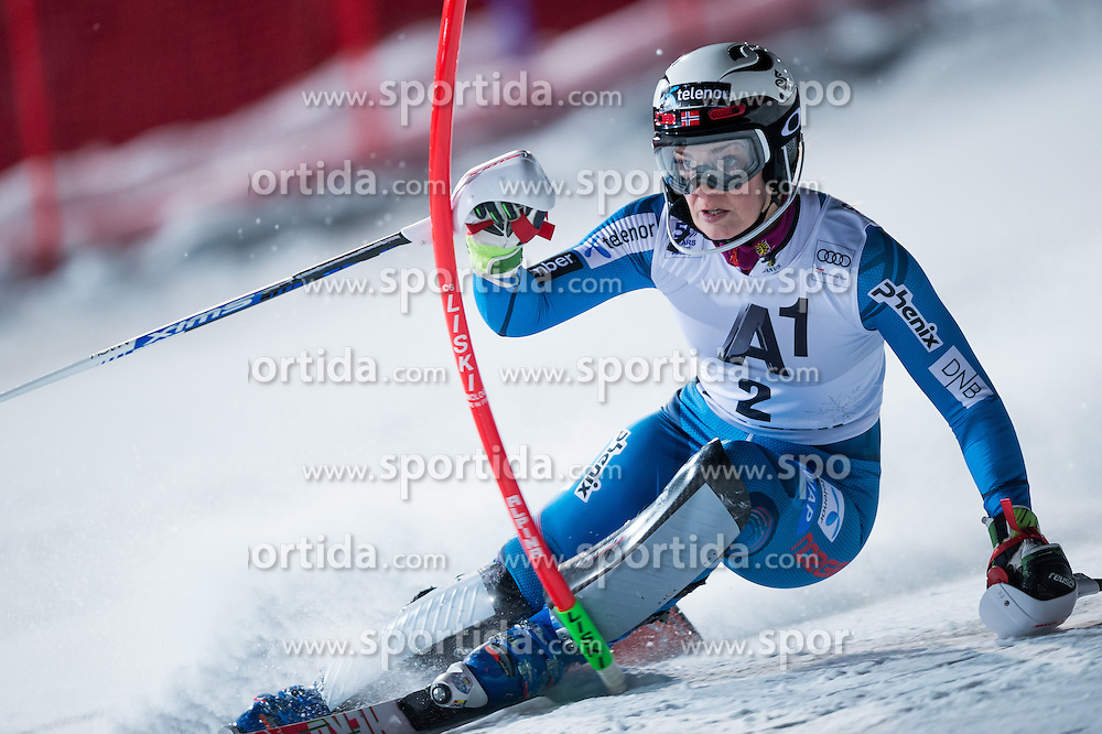 Nina Loeseth (NOR) during the 7th Ladies' Slalom of Audi FIS Ski World Cup 2016/17, on January 10, 2017 at the Hermann Maier Weltcupstrecke in Flachau, Austria. Photo by Martin Metelko / Sportida