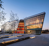ICE Kraków Congress Center in Poland by Ingarden & Evy