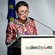 04 June 2015 - Belgium - Brussels - European Development Days - EDD - Migration - Migration is development - Making migration a driver for development - Imelda Nicolas , Chairperson , Commission on Filipinos Overseas (CFO) © European Union