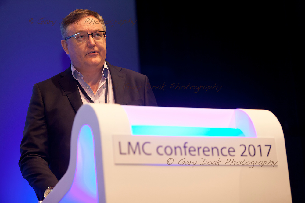 Carl Deaney<br /> BMA LMC's Conference<br /> EICC, Edinburgh<br /> <br /> 18th May 2017<br /> <br /> Picture by Gary Doak