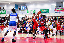 Adam Weary of Bristol Flyers - Rogan/JMP - 13/10/2017 - BASKETBALL - SGS Wise Arena - Bristol, England. - Bristol Flyers v Cheshire Pheonix - BBL Cup.