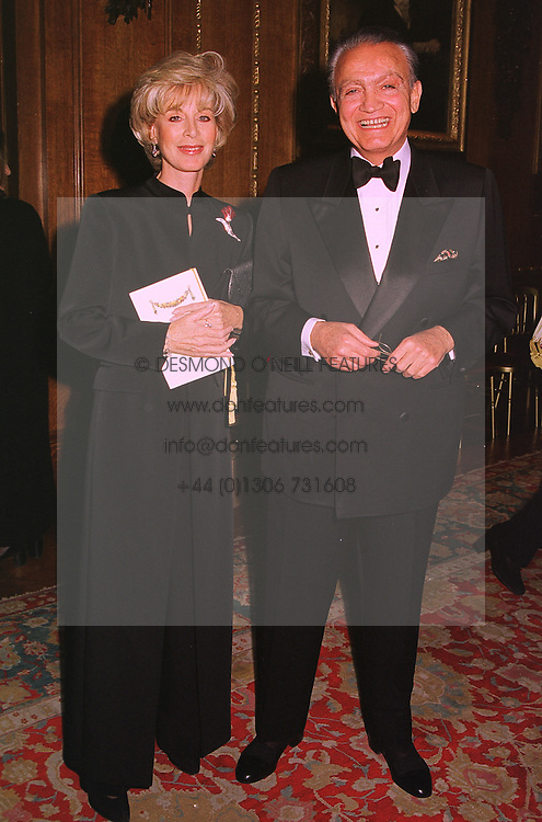 MR & MRS WAFIC SAID the multi millionaire, at a dinner in Berkshire on 19th November 1998.MME 83