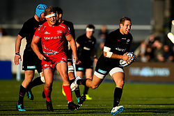 Max Malins of Saracens - Mandatory by-line: Robbie Stephenson/JMP - 17/11/2018 - RUGBY - Allianz Park - London, England - Saracens v Sale Sharks - Gallagher Premiership Rugby