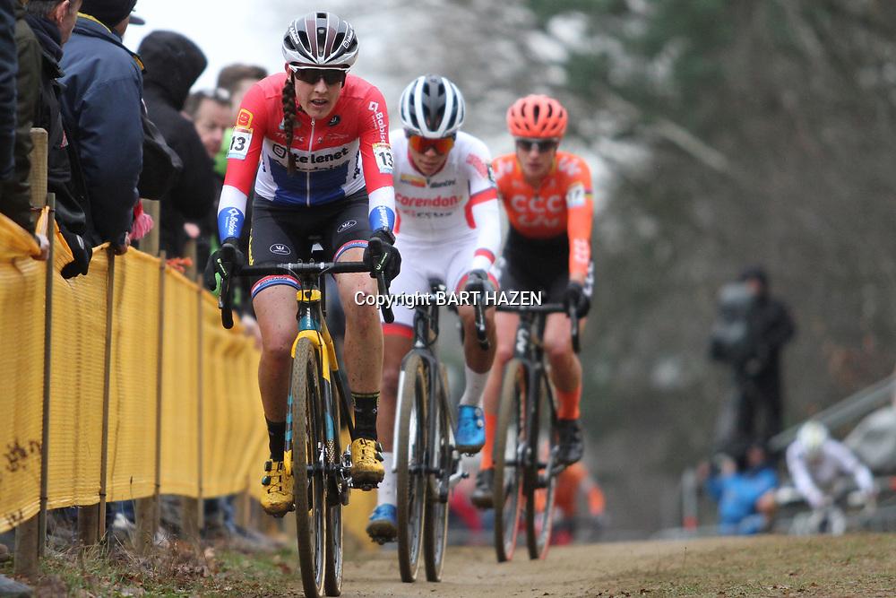 26-12-2019: Wielrennen: Wereldbeker veldrijden: Zolder: Lucinda Brand