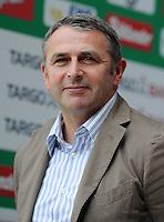 FUSSBALL   1. BUNDESLIGA   SAISON 2011/2012    3. SPIELTAG SV Werder Bremen - SC Freiburg                             20.08.2011 Manager Klaus ALLOFS (Bremen)