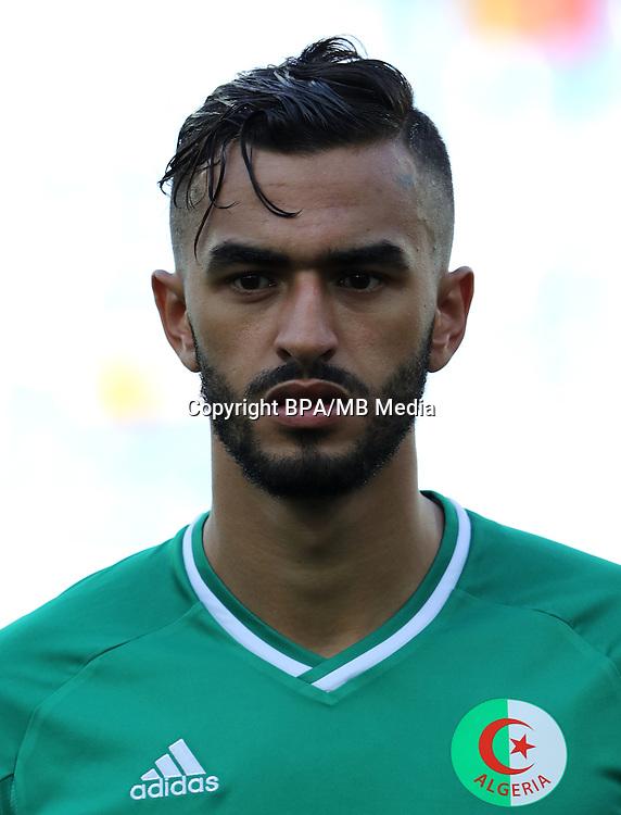 Fifa Men´s Tournament - Olympic Games Rio 2016 - <br /> Algeria National Team -  <br /> Ryad KENICHE