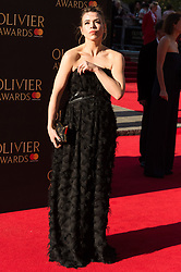 © Licensed to London News Pictures. 09/04/2017. BILLIE PIPER attends The Olivier Awards held at the Royal Albert Hall. London, UK. Photo credit: Ray Tang/LNP
