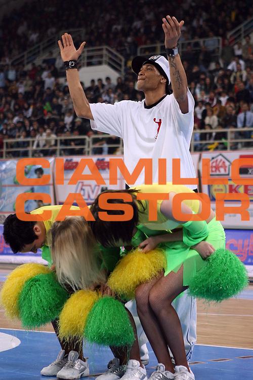 DESCRIZIONE : Cipro Cyprus Eurocup All-Star Day 2006<br /> GIOCATORE : The slamnation<br /> SQUADRA : <br /> EVENTO : Eurocup All Star Day 2006<br /> GARA : Europa Resto del Mondo Europe Rest of the world <br /> DATA : 14/03/2006<br /> CATEGORIA : cheerleaders<br /> SPORT : Pallacanestro<br /> AUTORE : Agenzia Ciamillo&amp;Castoria/E.Castoria