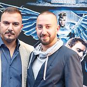 NLD/Amsterdam/20150518 - IMAX-première van X-Men: Apocalypse, Gürkan Küçüksentürk, en zijn neef