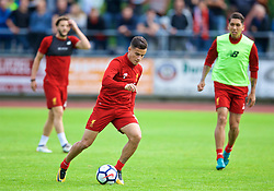 ROTTACH-EGERN, GERMANY - Friday, July 28, 2017: Liverpool's Philippe Coutinho Correia during a training session at FC Rottach-Egern on day three of the preseason training camp in Germany. (Pic by David Rawcliffe/Propaganda)