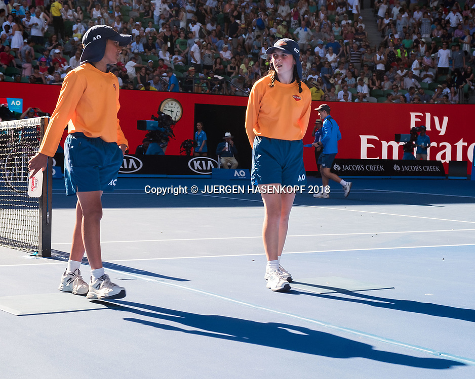 FEATURE Australian Open<br /> <br /> Tennis - Australian Open 2018 - Grand Slam / ATP / WTA -  Melbourne  Park - Melbourne - Victoria - Australia  - 18 January 2018.