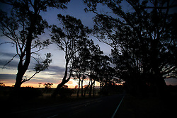 AUSTRALIA VICTORIA 11FEB08 - Colourful sunset in the Grampians on the road to Ararat in the outbacks of Victoria, Australia...jre/Photo by Jiri Rezac..© Jiri Rezac 2008..Contact: +44 (0) 7050 110 417.Mobile:  +44 (0) 7801 337 683.Office:  +44 (0) 20 8968 9635..Email:   jiri@jirirezac.com.Web:    www.jirirezac.com..© All images Jiri Rezac 2007 - All rights reserved.