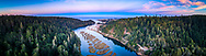 Big River, Mendocino, California
