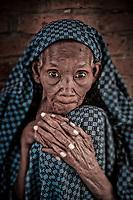 Old woman in an orphenage, Kigali, Rwanda