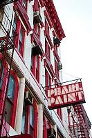 New York, New York City. Pear Paint building.