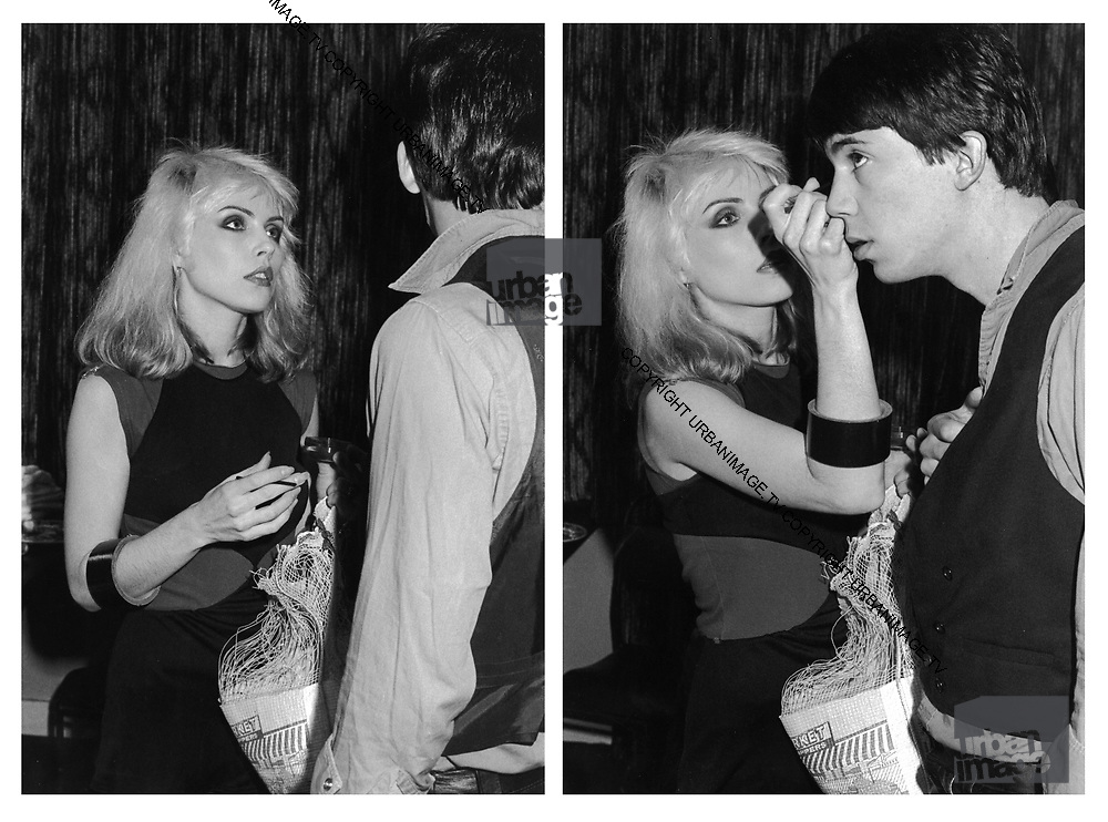 Debbie Harry Backstage with Chris Stein 1979