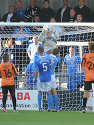 Barnet Goalkeeper Graham Stack, Barnet v Eastleigh, Vanarama Conference, Saturday 4th October 2014