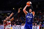 Moraschini Riccardo<br /> VL Pesaro - Happy Casa Brindisi<br /> Lega Basket Serie A 2018/2019<br /> Pesaro 26/01/2019<br /> M.Ciaramicoli | Ciamillo Castoria