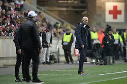 February 14, 2019 - Prague, CZECH REPUBLIC - Genk's head coach Philippe Clement pictured during a soccer game between Czech club SK Slavia Praha and Belgian team KRC Genk, the first leg of the 1/16 finals (round of 32) in the Europa League competition, Thursday 14 February 2019 in Prague, Czech Republic. BELGA PHOTO YORICK JANSENS (Credit Image: © Yorick Jansens/Belga via ZUMA Press)