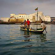 Ghana fishing villages