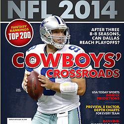 Lindys Sports NFL 2014 Cover - Tony Romo - Cowboys