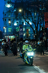 City of London motor cycle police on patrol