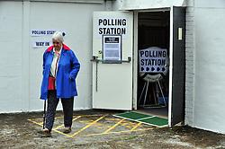 © Licensed to London News Pictures. 23/06/2016<br /> EU REFERENDUM POLLING DAY.  <br /> Polling station at Sea Cadets building St Marys Cray,Orpington,Kent.<br /> <br /> <br /> <br /> (Byline:Grant Falvey/LNP)