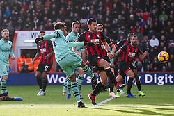 Pierre-Emerick Aubameyang of Arsenal shoots - Rogan/JMP - 25/11/2018 - FOOTBALL - Vitality Stadium - Bournemouth, England - Bournemouth v Arsenal - Premier League.