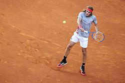 May 12, 2019 - Madrid, Spain - Greek Stefanos Tsitsipas during ATP Singles Finals at Mutua Madrid Open in Madrid, Spain. May 12, 2019. (Credit Image: © Borjab.Hojas/NurPhoto via ZUMA Press)