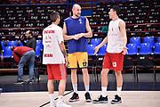 Cusin Marco Cinciarini Andrea Fontecchio Simone<br /> AX Armani Exchange Milano - FIAT Torino<br /> Lega Basket Serie A 2018-2019<br /> Milano 03/03/2019<br /> Foto M.Matta/Ciamillo & Castoria