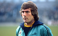 Pat Jennings, Arsenal & N Ireland footballer, goalkeeper, 198505505PJ..Copyright Image from Victor Patterson, 54 Dorchester Park, Belfast, UK, BT9 6RJ..Tel: +44 28 9066 1296.Mob: +44 7802 353836.Voicemail +44 20 8816 7153.Skype: victorpattersonbelfast.Email: victorpatterson@me.com.Email: victorpatterson@ireland.com (back-up)..IMPORTANT: If you wish to use this image or any other of my images please go to www.victorpatterson.com and click on the Terms & Conditions. Then contact me by email or phone with the reference number(s) of the image(s) concerned.