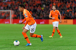 10-10-2019 NED: Netherlands - Northern Ireland, Rotterdam<br /> UEFA Qualifying round ­Group C match between Netherlands and Northern Ireland at De Kuip in Rotterdam / Donyell Malen #20 of the Netherlands