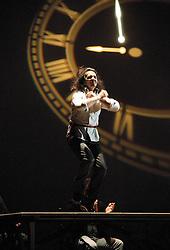 Farruquito ..Abolengo..Flamenco Festival London .at Sadler's Wells, London, Great Britain .17th March 2013 .Press photocall..Juan Manuel Fernandez Montoya 'Farruquito'. Photo by Elliott Franks / i-Images...