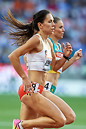 Great Britain, London - 2017 August 10: Joanna Jozwik (AZS AWF Warszawa) of Poland competes in women's 800 meters qualification during IAAF World Championships London 2017 Day 7 at London Stadium on August 10, 2017 in London, Great Britain.<br /> <br /> Mandatory credit:<br /> Photo by © Adam Nurkiewicz<br /> <br /> Adam Nurkiewicz declares that he has no rights to the image of people at the photographs of his authorship.<br /> <br /> Picture also available in RAW (NEF) or TIFF format on special request.<br /> <br /> Any editorial, commercial or promotional use requires written permission from the author of image.