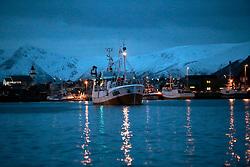 NORWAY ANDENES 7DEC15 - General view of the fishing harbour in the town of Andenes, Vesteralen, Norway.<br /> <br /> jre/Photo by Jiri Rezac / Greenpeace<br /> <br /> © Jiri Rezac 2015