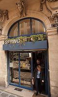 Spring Boutique, Paris - connected to Daniel Rose' Spring Restaurant.