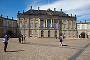 Amalienborg Palace, Copenhagen, Denmark