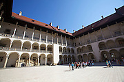 Poland, Krakow. Wawel (castle).
