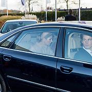 NLD/Nieuwegein/20191129 - Maxima bij jubileumcongres CNV Vakmensen, Beveiliging Koningin Maxima