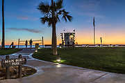 Laguna Beach Sunset Lifestyle at Main Beach Park