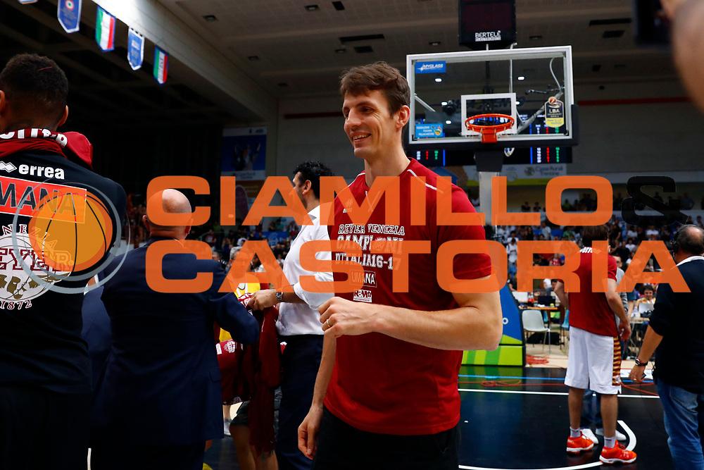 Dolomiti Energia Trento - Umana Reyer Venezia<br /> Lega Basket Serie A 2016-2017<br /> Playoff FINALE Gara 6<br /> Avellino 20/06/2017<br /> Foto Ciamillo-Castoria